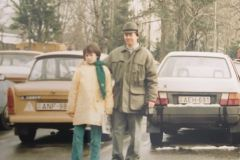 Balint & his  father