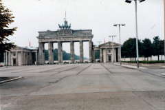 Brandenburg Gate on the Eastern Side of the Wall