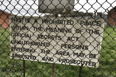 Upper Heyford Perimeter fence