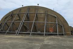 Hardened aircraft shelter