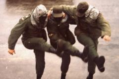 Dancing Army Men