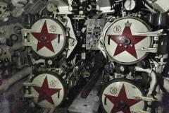 Aft torpedo room
