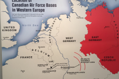 Overall map of NATO/Warsaw Pact in Europe