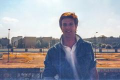 Todd Anton at Wall 1987