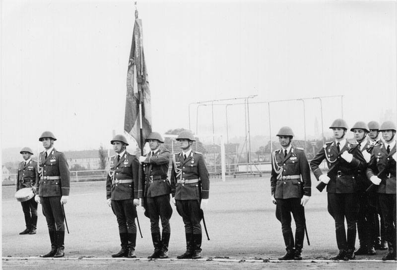 45 – An East German Army Officer at the 40th anniversary
