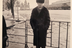 1989 Red Square, Moscow USSR.  Trying to look Russian.
